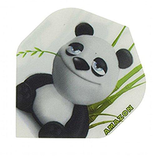 Amazon Strong 3D Comic Motive Dart Flights Panda