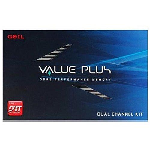 Geil Value Plus PC-1333 Arbeitsspeicher 4GB (CL7 2X 2GB) DDR3-RAM Kit