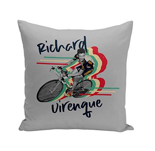 Fabulous Coussin 40x40 cm Richard Virenque Vintage Vélo France Cyclisme Tour