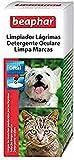 Beaphar Limpiador de Lágrimas Perro y Gato, Negro, Estandar, BEA11629