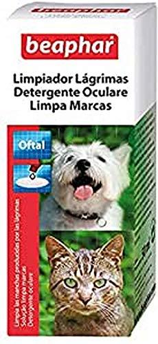 Beaphar Limpiador de Lágrimas Perro y Gato, Negro, 1 Unidad (Paquete de 1), BEA11629