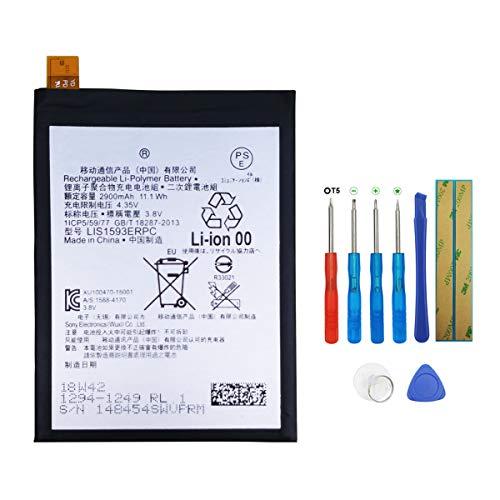 Swark LIS1593ERPC Akku für Sony Xperia Z5 E6603 E6653 with Tools