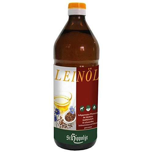 Leinöl kaltgepresst 750 ml.