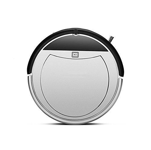 WSXX Aspirapolvere Robot A Carica Automatica Con Aspirazione Potente E Telecomando, Design Super Silenzioso Per Moquette Sottile E Pavimenti Duri 31 * 31 * 7.8 Cm