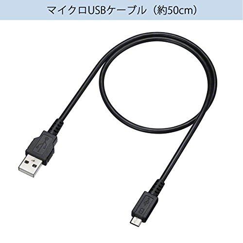 ソニー ワイヤレスイヤホン WI-C300 : Bluetooth対応 最大8時間連続再生 マイク付き 2018年モデル ホワイト WI-C300 W