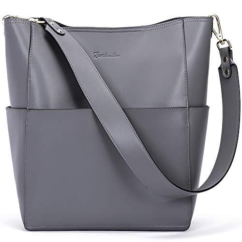 Bostanten Designer-Handtasche aus Leder für Damen, Einkaufstasche, Schultertasche, Beuteltasche