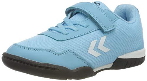 hummel Unisex-Kinder Sneaker, Blau(SKY BLUE), 29 EU