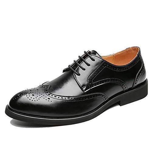 Zapatos de Vestir para Hombre, Zapatos Retro de tacón bajo, Zapatos de...