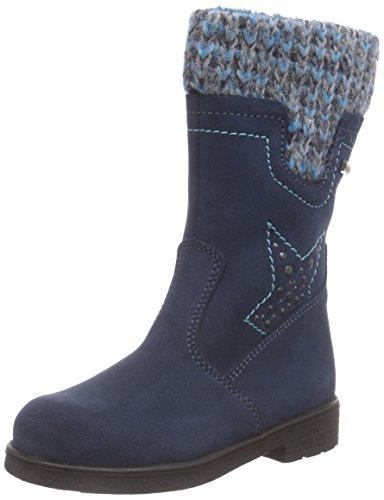 Däumling Andrea RV - Alia Mädchen Langschaft Stiefel, Blau (46Turino tiefsee), 25 EU
