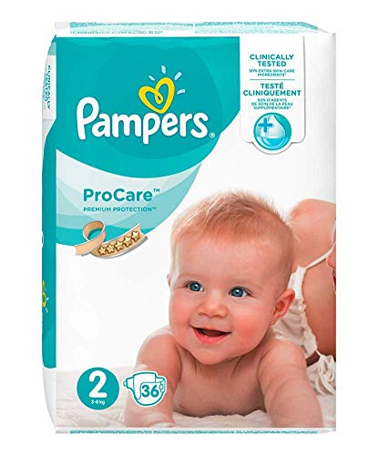 Pampers ProCare 36 Couches Taille 2 (3-6 kg)