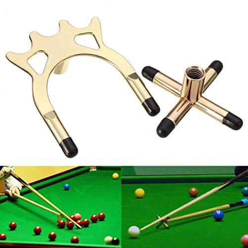 YSHTAN Cross and Spider Holder Ball Sporting Houder Duurzame Cross Spider Houder Rest voor Pool Snooker Biljart Tafel Cue Stick