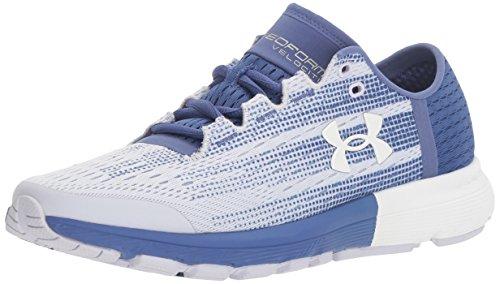 Under Armour Men's Speedform Velociti Running Shoe, Lavender Ice (500)/Deep Periwinkle, 7