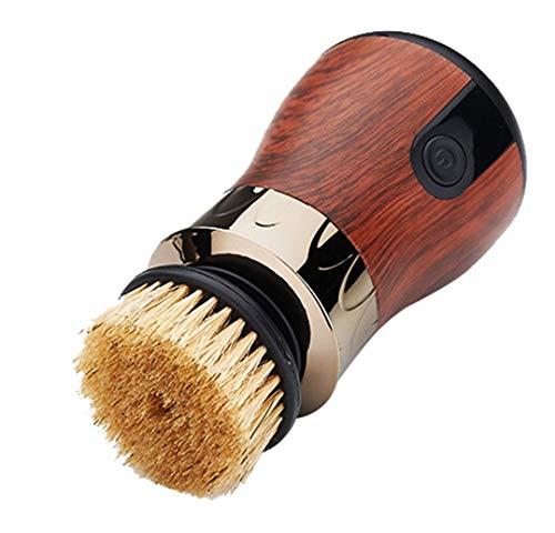 LXT PANDA Elektroschuh-Shine-Kit, automatische Schuhpolierausrüstung, Multifunktions-Lederschuh Elektroschuh-Poliermaschine USB wiederaufladbar, zum Polieren und...