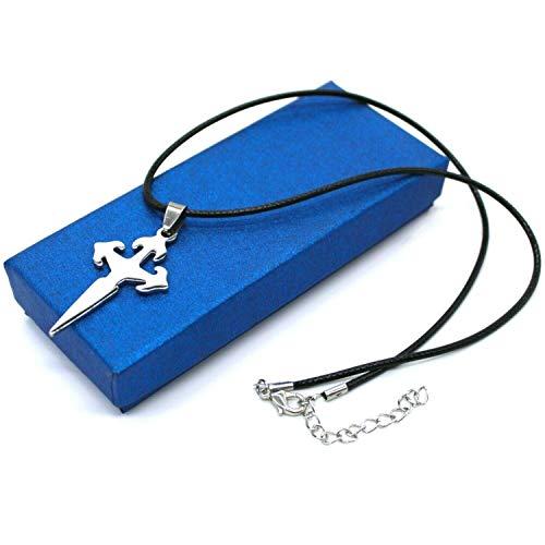 ERN Stainless Steel Pendant - Dagger - Jewellery with Chain | Men, Women & Children | 4.5 cm | Gift Idea