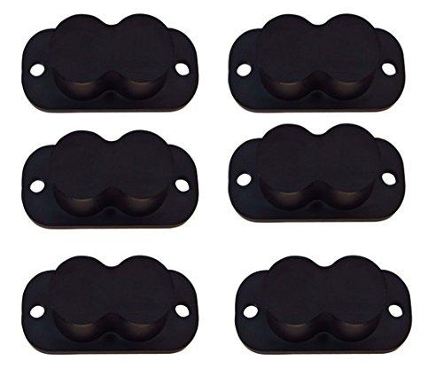 Safety Solutions For Gun Storage Pack of 6 Gun Magnet Concealed Rifle & Shotgun Magnetic Holder (6 Magnet Holders)