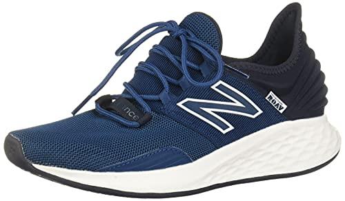 New Balance Men's Fresh Foam Roav V1 Running Shoe, Rogue Wave/Eclipse/White, 7 Wide