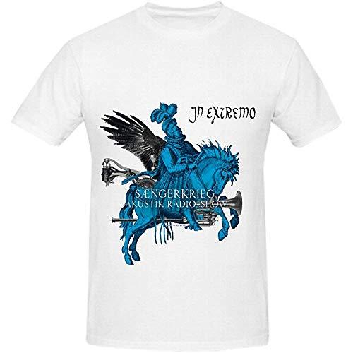 In Extremo Sngerkrieg Akustik Radio Show Funk Men Round Neck DIY Shirts XXL