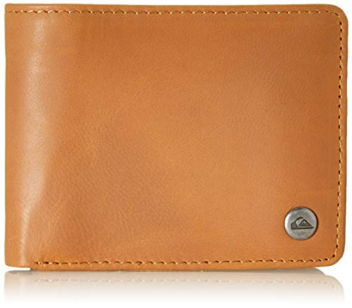 Quiksilver Men's Mack Wallets, Natural, Dimensions: Medium 4.5' 3.5' [h] / 12[w] x 9[h] cm