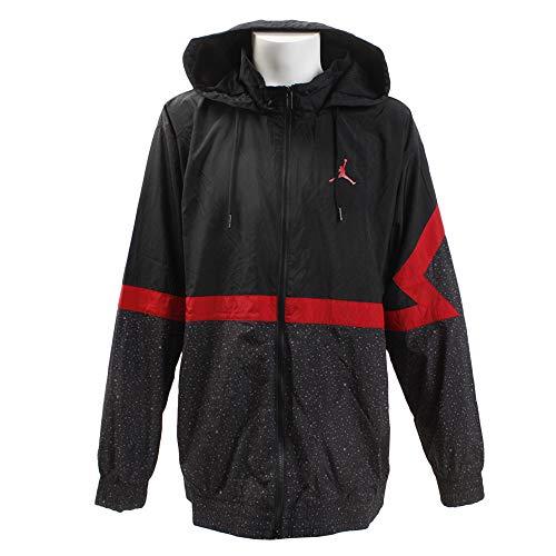 Nike Diamond Cement Herrenjacke, Black/Gym Red/Gym Red M schwarz/rot (black/Black/Gym red/Gym red)