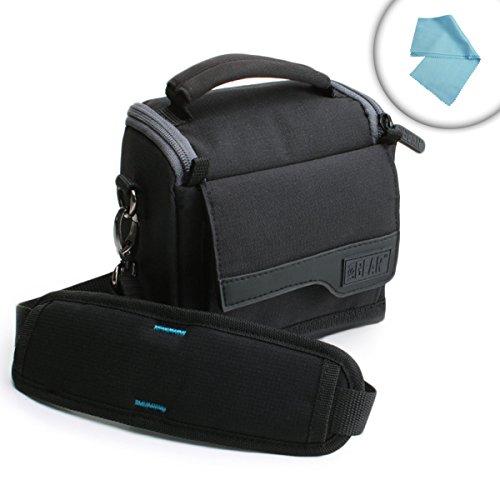 USA Gear Simmons Rangefinder Holster Case Bag Shoulder Strap & Accessory Pockets - Fits 801600 Volt, 4x20LRF 600, 801601, 801600T More