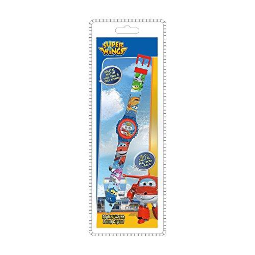 Disney - Reloj Digital de Super Wings Ke02 WI17004