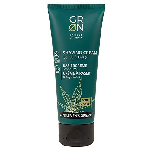 GRON - Shades of Nature Gentleman´s Organic Shaving Cream Hemp & Hops 75ml