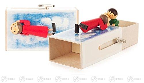 Musikdose »Romantik-Box«, Melodie: Laras Theme BxHxT = 9,5x6x6cm NEU Erzgebirge Spieluhr Spieldose