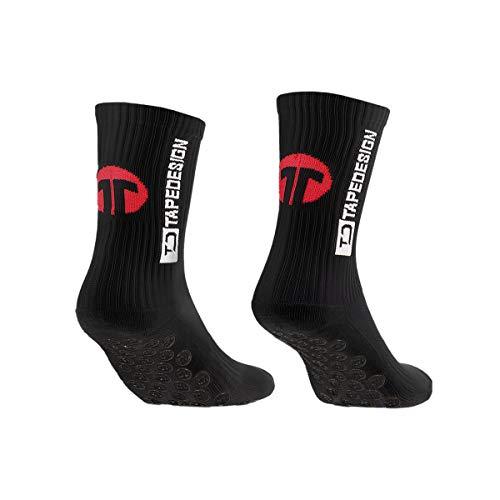 Tapedesign Socks 11teamsports Socken Schwarz F002