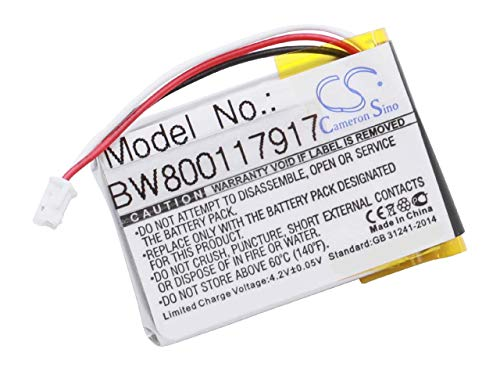 vhbw Li-Polymer Akku 450mAh (3.7V) passend für kabellose Maus (Wireless Mouse) Logitech 910-004362, 910-004374, M-RO052, MX Anywhere 2, MX Master