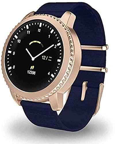 Smart Watch 1 22 Raqueta Pantalla Ronda Pantalla Pulsera Inteligente IP68 Impermeable USB Carga para Hombres y Momen Fitness/Deportes Uso Diario E-IS-D.
