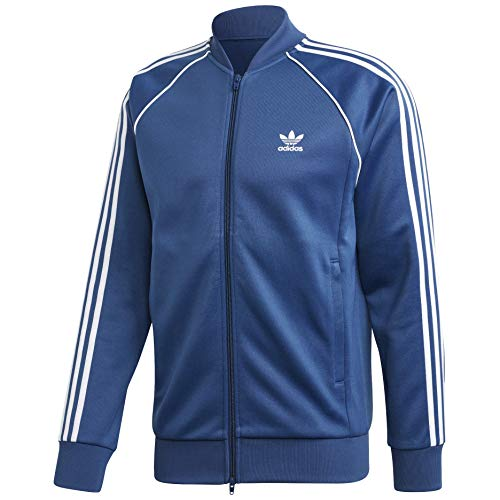 adidas Originals Men's Superstar Track Top Night Marine Small
