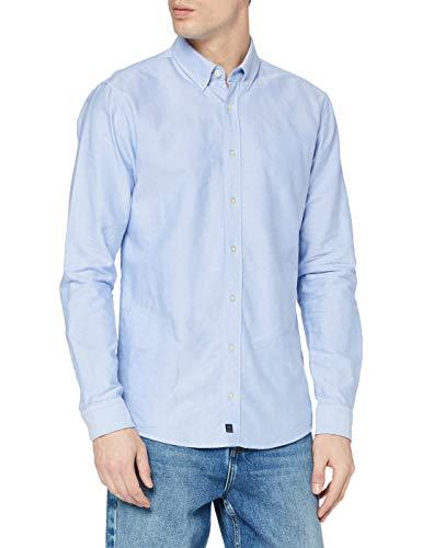 Strellson Premium Herren Core-W Freizeithemd, Blau (Lt/Pastel Blue 450), X-Large (Herstellergröße: XL)