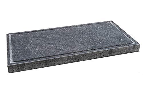 Etna Stone & Design Lava Grill BISTECCHIERA Pietra LAVICA ETNEA Piastra LEVIGATA 60x30 cm per Forno...