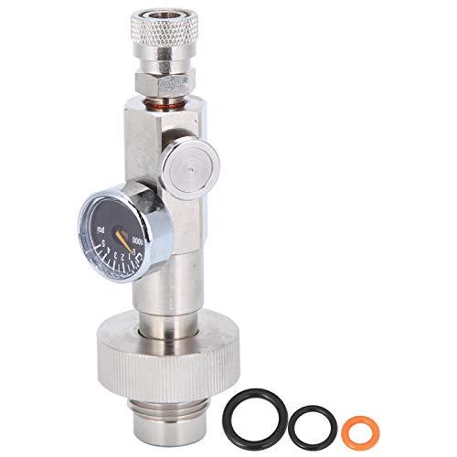 Válvula de inflado de la válvula de inflado hexagonal resistente al desgaste, para la lucha contra incendios