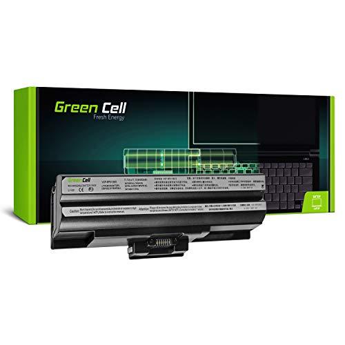 Green Cell Standard Serie VGP-BPS13 VGP-BPS13/S VGP-BPS13/B VGP-BPS13/Q VGP-BPL13 VGP-BPS21 VGP-BPS21A VGP-BPS21B Batería para Sony Vaio Ordenador (6 Celdas 4400mAh 11.1V Negro)