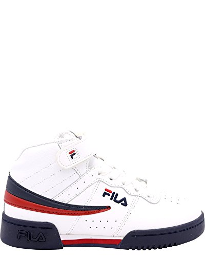 Fila Kid's F-13 Sneakers White / Fila Navy / Fila Red 6.5