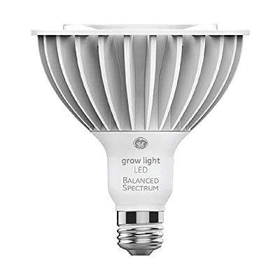 GE Lighting PAR38 Full Spectrum LED Grow Light for Indoor Plants - 32W, Full, Balanced Lighting For Seeds & Greens