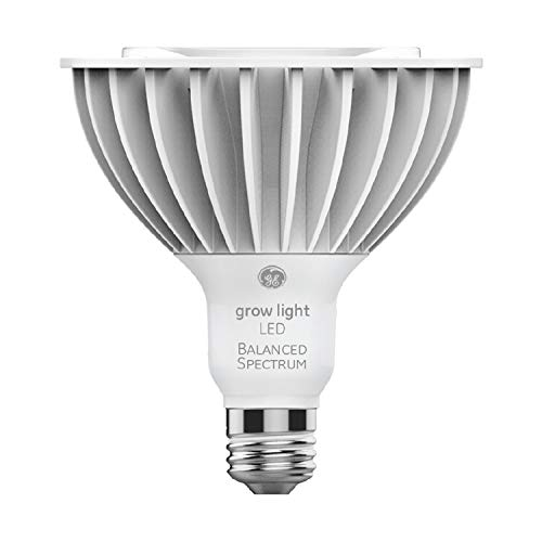 GE Grow Light Bulb, PAR38 Grow Light Bulb for Indoor Plants, Full Spectrum, 32-Watt, Balanced Lighting for Seeds and Greens