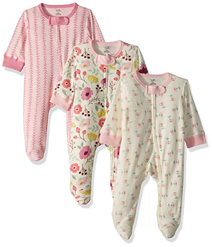 Touched by Nature Baby Organic Cotton Sleep and Play, Botanical, 6-9 Months