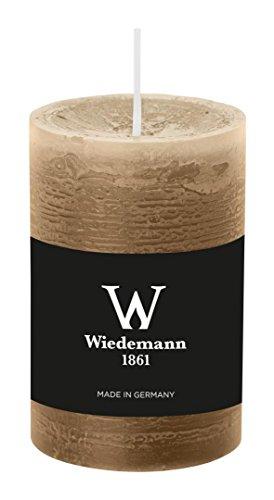 Wiedemann Marble Kerze durchgefärbt ASF, Wachs, Sand, 9 x 5.8 cm, 8-Einheiten