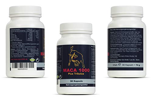 Maca 1000 plus Tribulus Potenzmittel - 8