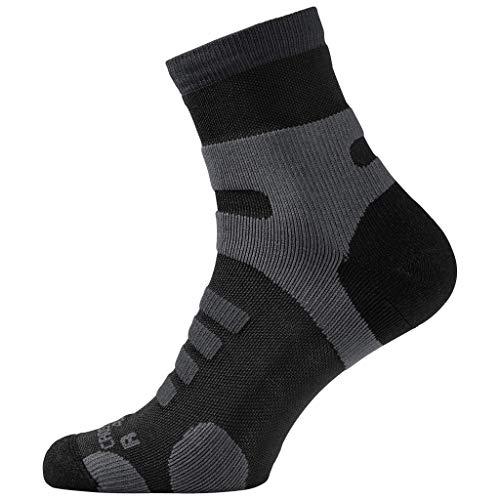Jack Wolfskin Unisex Cross Trail Classic Cut Chaussettes Socken, (Black), (Herstellergröße: 35-37)