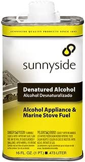 SUNNYSIDE CORPORATION Sunnyside 83416 1 Pint Denatured Alcohol Solvent