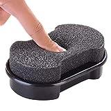 ZHANGJIAN 1 unids Pulido de Cuero Limpieza líquido Cera Brillante Esponja polisaje Zapato Bolsa de Botas sofá quickshine Zapatos Cepillo Limpiador Superior Calidad Fácil de Cargar