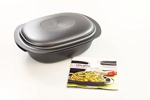 TUPPERWARE UltraPro 2,0 L Backform Bräter Auflaufform + Ultra Pro Kochheft
