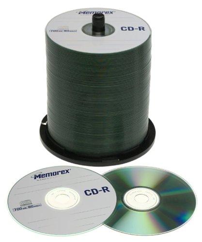 Memorex CD-R 80 - CD-RW vírgenes (CD-R, 700 MB, 52x): Amazon.es: Electrónica