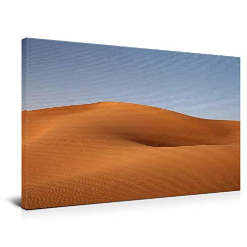 widnah Desierto de Barren, arte moderno en lienzo, arte de pared, decoración del hogar, sala de estar, dormitorio, oficina (enmarcada, 50 x 75 cm)