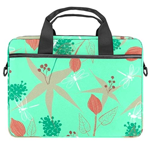 Laptop Tote Bag Computer Rucksack Compatible with Chromebook, MacBook Pro Conchoidal Bud