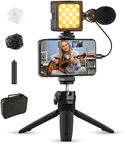 Vlogging Kit for iPhone Sutefoto Video Content Creator Kit YouTube Starter Vlog Kit for Kids product image
