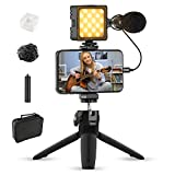 Vlogging Kit for iPhone, Sutefoto Video Content Creator Kit, YouTube Starter Vlog Kit for Kids Vlogger Video Recording Fitness Yoga Tiktok